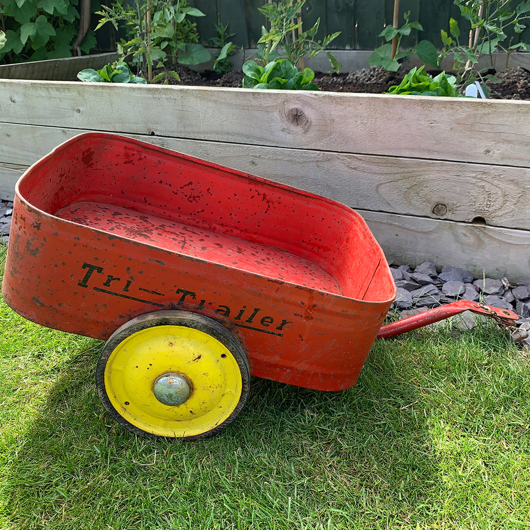 Child's Vintage Triang Bike Trailer