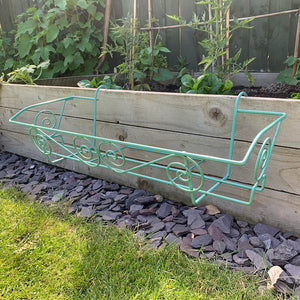 French Green Planter Trough