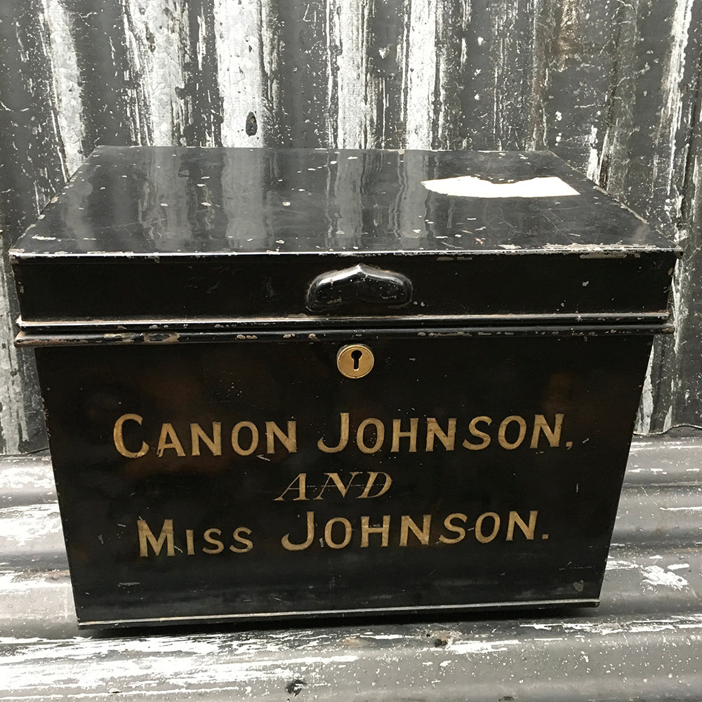 Canon Johnson Metal Deed Box