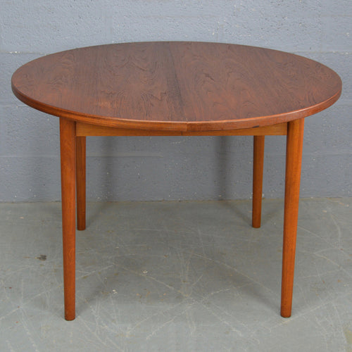 Vintage Mid Century Danish Teak Dinning Table by Nils Jonsson for Troeds