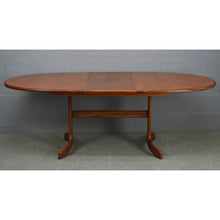 Load image into Gallery viewer, Vintage Mid Century Teak Oval Dinning Table by G Plan