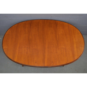 Vintage Mid Century Teak Oval Dinning Table by G Plan