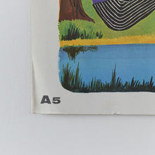 Load image into Gallery viewer, Vintage 1965 Fernand Nathan French School Poster/Print (A5)