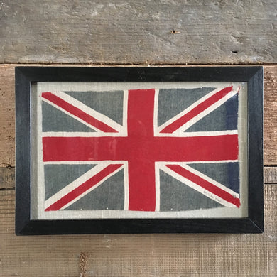 Vintage framed Union Flag - No. 26