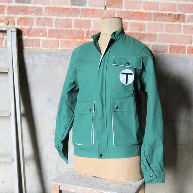 Klopman Vintage Green Workwear Jacket