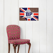 Load image into Gallery viewer, BP Motor Spirit Enamel Sign