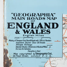 Load image into Gallery viewer, Firestone Tyres Map Of England Enamel Sign