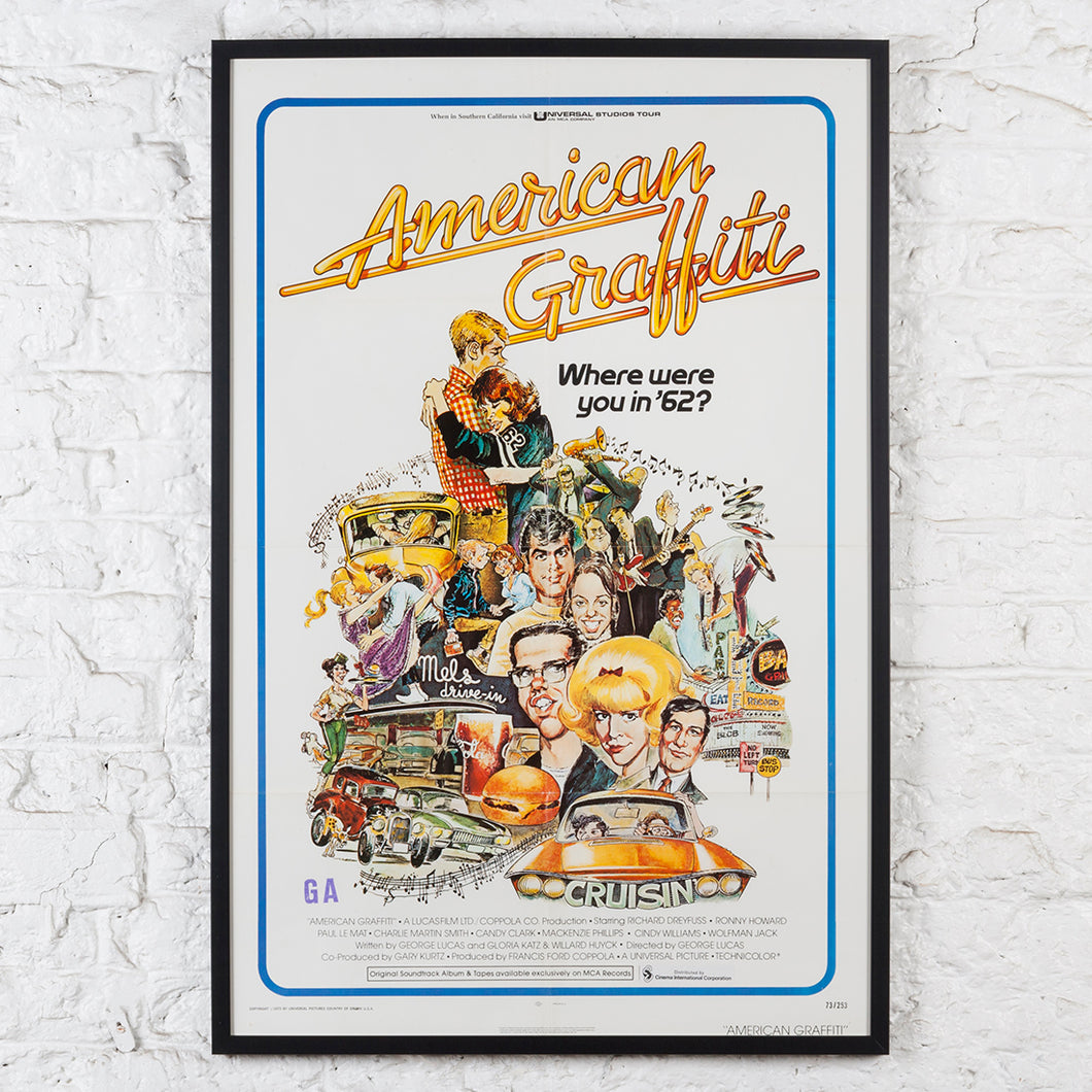 American Graffiti - Original Us One-sheet Film Poster