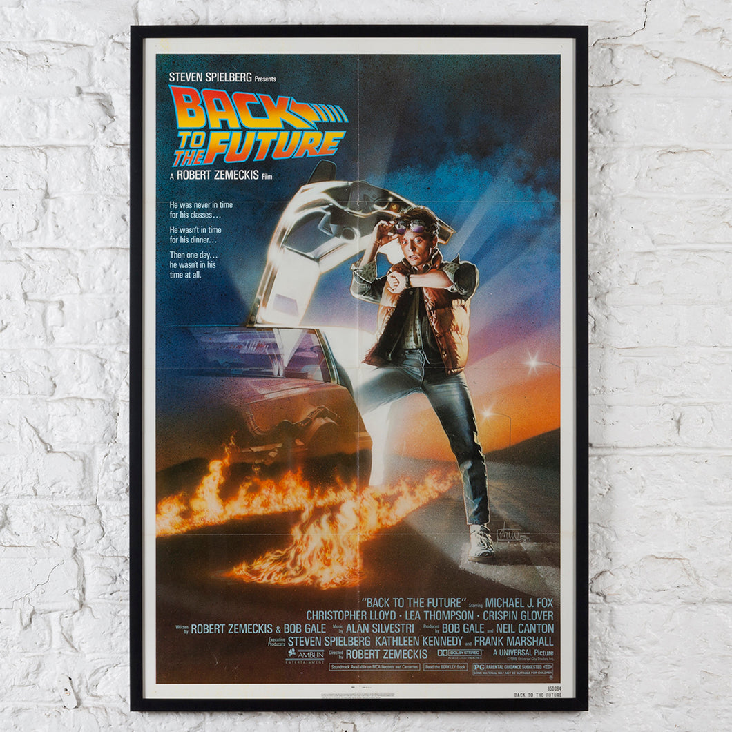 Back To The Future, Original 1985 One-sheet Film Poster