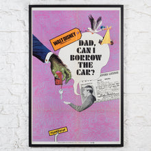 Load image into Gallery viewer, Dad, Can I Borrow The Car? Walt Disney Us One-sheet Poster