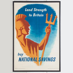 Vintage National Savings Poster