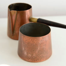 Load image into Gallery viewer, Vintage Mid Century Copper Coffee Set