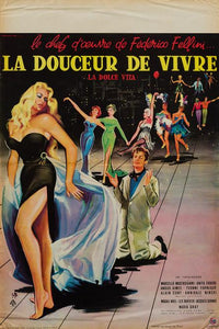 La Dolce Vita 1960 original French Affiche Petite film movie poster