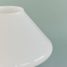 Load image into Gallery viewer, Vintage 1970s Small White Glass Mushroom Lamp by Hala Zeist