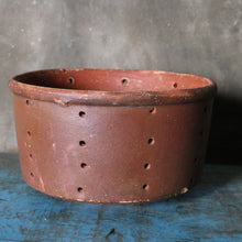 Load image into Gallery viewer, Large Vintage Terracotta Cheese Strainer Mould