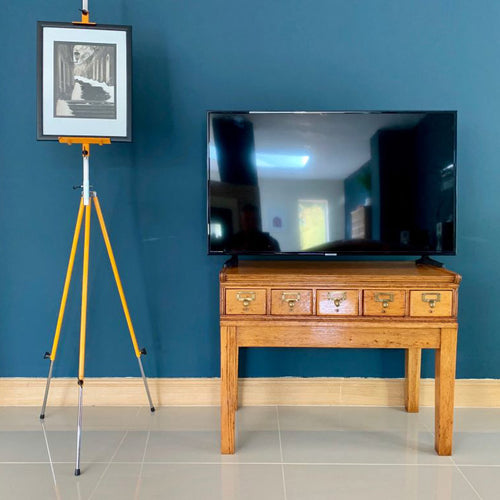 Mid Century LibraCo Index Card Cabinet / TV Stand