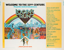 Load image into Gallery viewer, Logan's Run 1976 US Half Sheet Film Poster