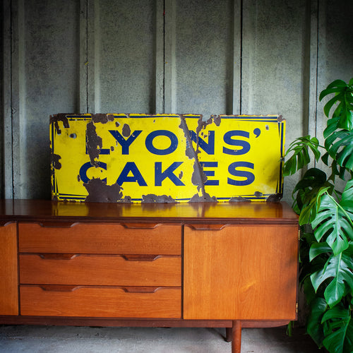 1940s Lyons Advertising Sign