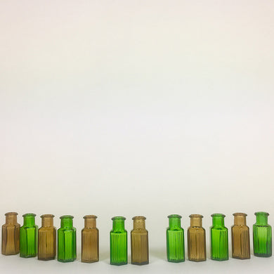 Miniature Poison Bottles - Set of 12