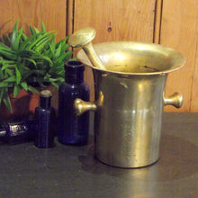 Load image into Gallery viewer, Vintage Apothecary Pestle And Mortar - Large