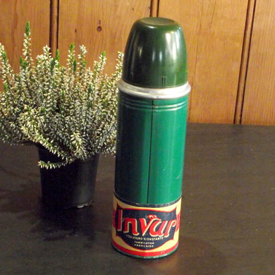 French Vintage 'Invar' Thermos