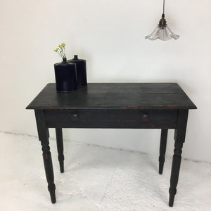 French Vintage Painted Console Table