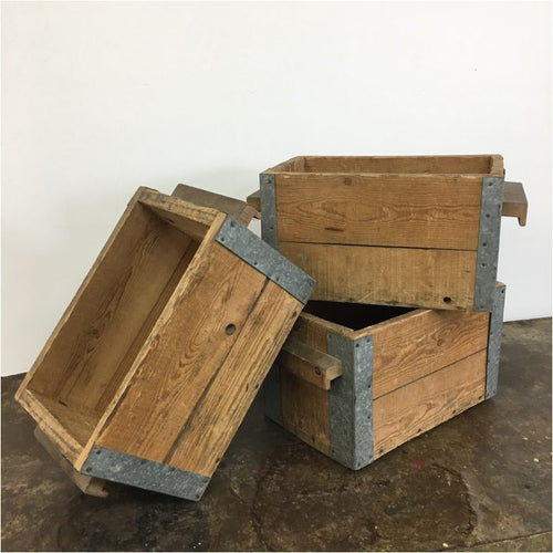 Vintage Wooden Storage Crate