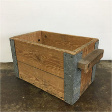 Load image into Gallery viewer, Vintage Wooden Storage Crate