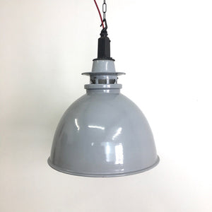 Large Grey Thorlux Industrial Pendant Factory Light Shade