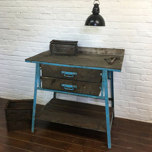 French Garage Workshop Workbench