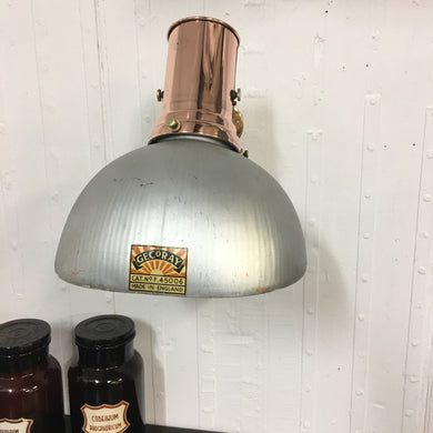 Original Copper GECoRAY Wall Light
