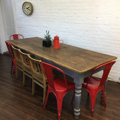Vintage Farmhouse Kitchen Table
