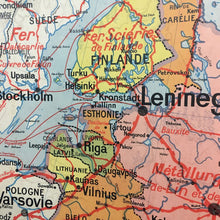 Load image into Gallery viewer, French Vidal Lablanche Vintage Map - Russia