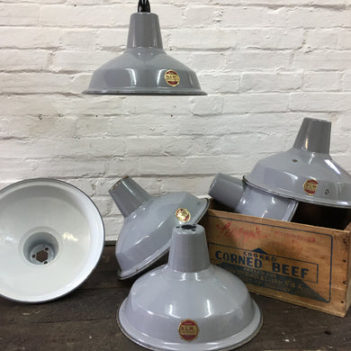 Benjamin Industrial Light Shade Grey 13″