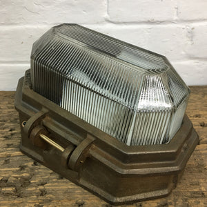 Oxidised Wardle Prismalux Bulkhead Light