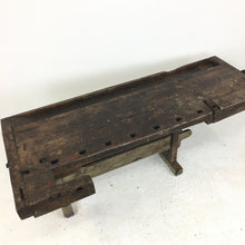Load image into Gallery viewer, Original Oak Vintage Workbench