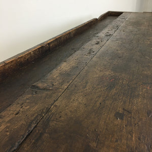 Original Oak Vintage Workbench