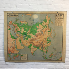 Load image into Gallery viewer, Vidal Lablache Vintage Asia Map
