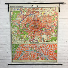 Load image into Gallery viewer, Westermann Vintage Paris Map