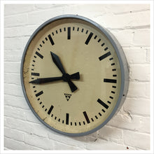 Load image into Gallery viewer, Czech Pragotron Station Vintage Wall Clock