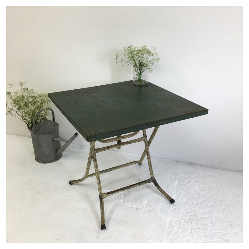 French Vintage Garden Table