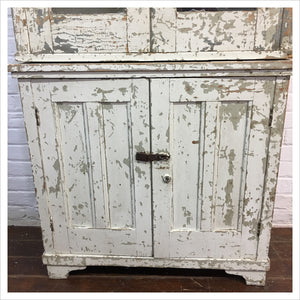 Vintage Hungarian Farmhouse Kitchen Dresser