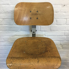 Load image into Gallery viewer, Vintage French BAO Swivel Chair