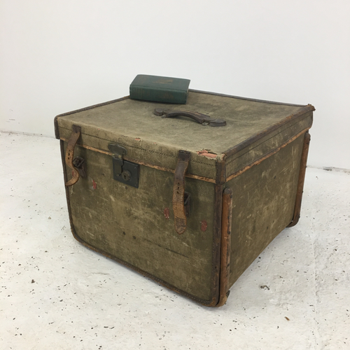Antique Military Travelling Case Hill and Millard