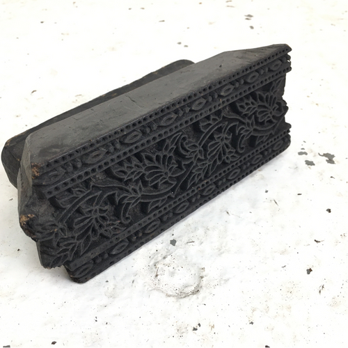 Antique Wooden Printing Block-5