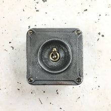 Load image into Gallery viewer, Crabtree Conduit Vintage Light Switch