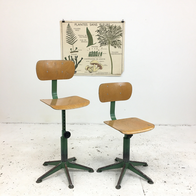 French School Vintage Desk Chair