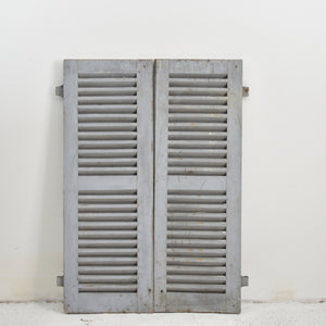 Grey Vintage French Shutters