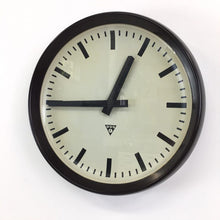 Load image into Gallery viewer, Large Czech Bakelite Pragotron Clock