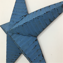 Load image into Gallery viewer, Original Metal Blue 40inch Amish Barn Star
